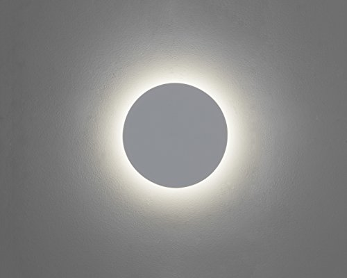 Astro LED Wandleuchte Eclipse Round 350 IP20   LEDs fest verbaut Inklusive Leuchtmittel: LED Strips 13W 477lm warmweiß   7454 (Eclipse Home Decor)