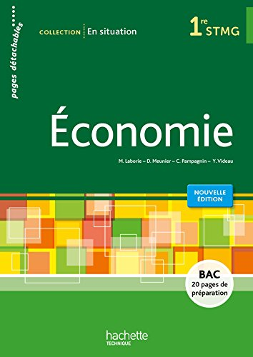 En situation conomie 1re STMG - Livre lve consommable - Ed. 2015