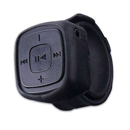 Zeigt Stil Mini MP3-Musik tragbar Multimedia-Player mit Mikrofon Schlitz für Karte TF BLACK