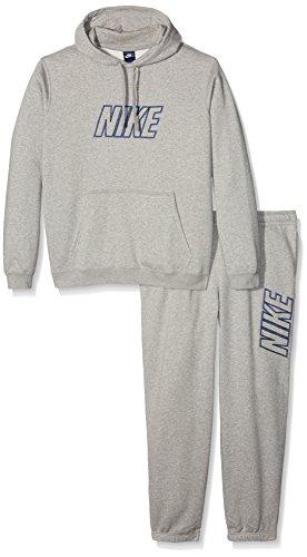 Nike M NSW TRK ST FLC GX SWSH+ - Trainingsanzug Herren Grau