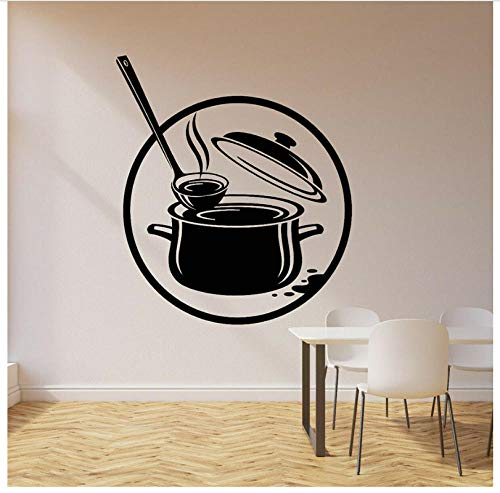 Wandaufkleber Küchentopf Dekoration Wandkunst Wandtattoos Dekor Kreative