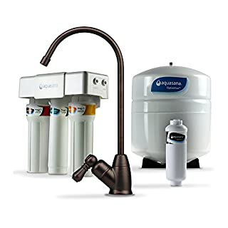 Aquasana AQ-RO-3.62 OptimH2O Reverse Osmosis Fluoride Water Filter, Oil Rubbed Bronze by Aquasana