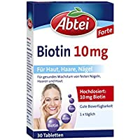 Abtei Biotin 10 mg, 30 Stück, 1-er Pack (1 x 22 g)