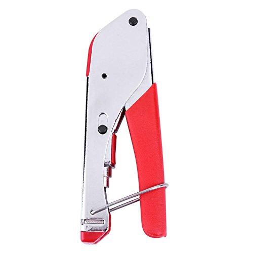 starnearby Koaxial Kabel Squeeze Klemme Crimp Presse Zange Werkzeug für RG59RG6 Rg59-snap