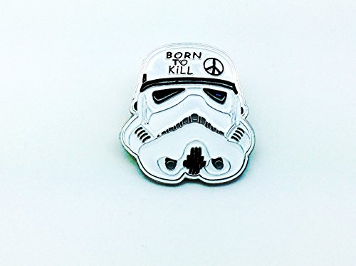 Born To Kill Stormtrooper Star Wars Cosplay Metal Pin Badge