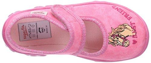 Superfit Mädchen Bonny Flache Hausschuhe Pink (POWDER 60)