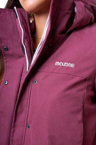 MAZINE - veste-blouson - Femme - MAZINE - colorado - black Bordeaux