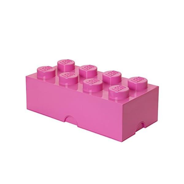 LEGO - Scatola stoccaggio, Arancione, & Room Copenhagen Classic Mattoncino Bottoncini,Contenitore impilabile Litri… 1 spesavip