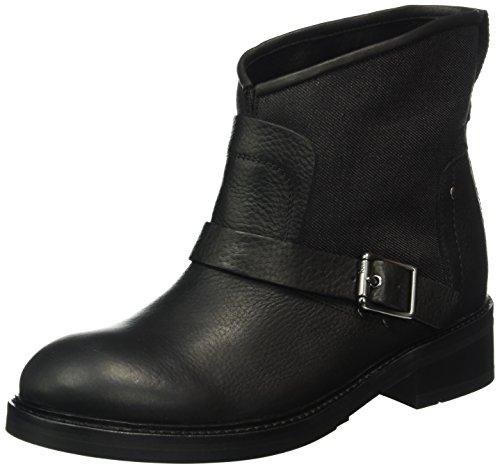 g star stiefeletten G-STAR Damen Leon Biker Boots, Schwarz (Black 990), 41 EU