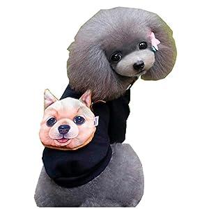 ?AMUSTER ?Cute Puppy Vêtements Pull chien chien Petite chemise de chiot Doux Manteaux de chat pour animaux de compagnie 2XS-2XL