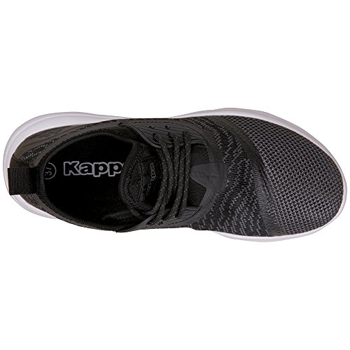 Kappa Layer, Sneaker Unisexe - Adulteo Schwarz (1116 Noir / Gris)