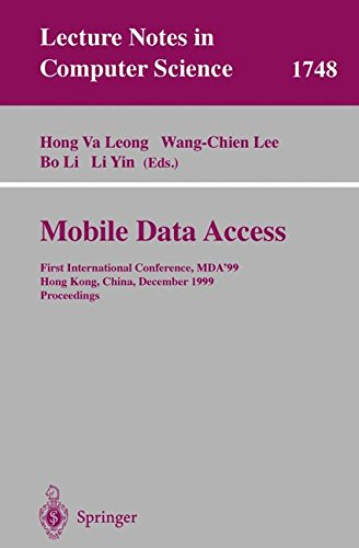mobile-data-access-1st-international-conference-mda99-hong-kong-china-december-16-17-1999proceedings