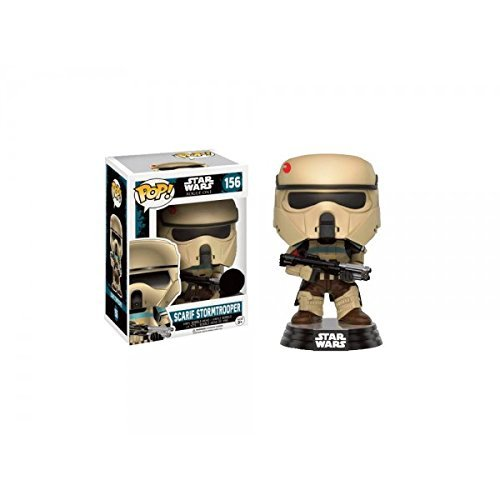 Star Wars Rogue One POP! Vinyl Bobble-Head Figure Scarif Stormtrooper (Blue Stripe) 9 cm Funko Mini figures
