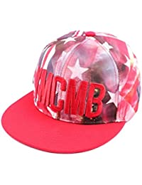 Snapback Ymcmb Rouge avec drapeau US - Mixte