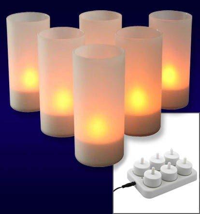 Olympia LED Teelicht 6er Set Kerzenlicht Pro 6 LED 35
