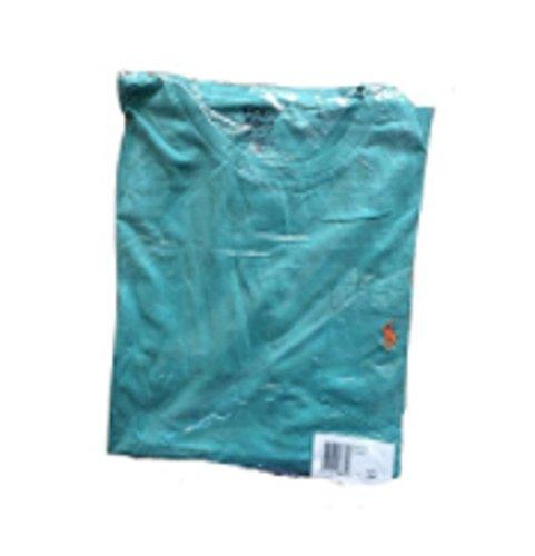 Polo Ralph Lauren -  T-shirt - Collo a U  - Uomo Pale Green (Orange Pony)