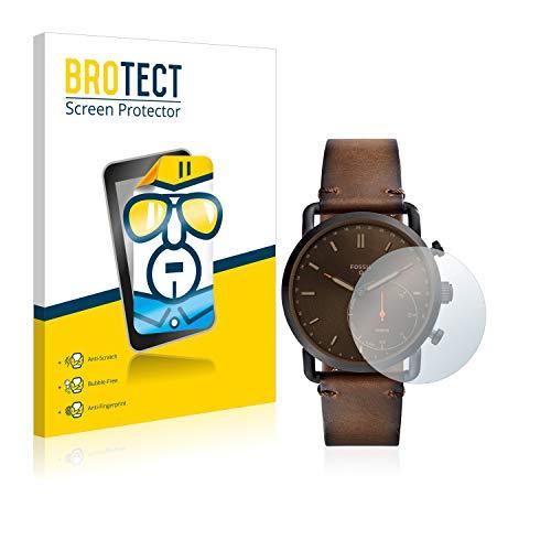 BROTECT Schutzfolie kompatibel mit Fossil Q Commuter [2er Pack] - klarer Bildschirmschutz
