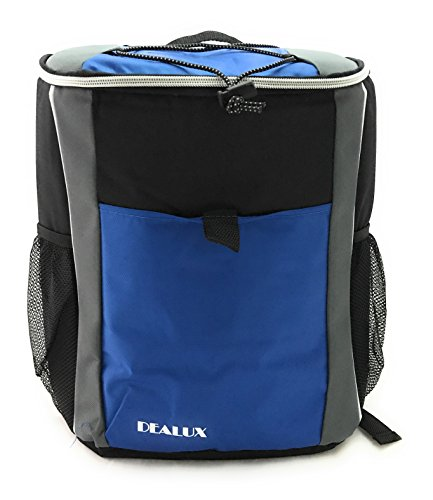 Zaino termico backpack blu dealux 19 litri