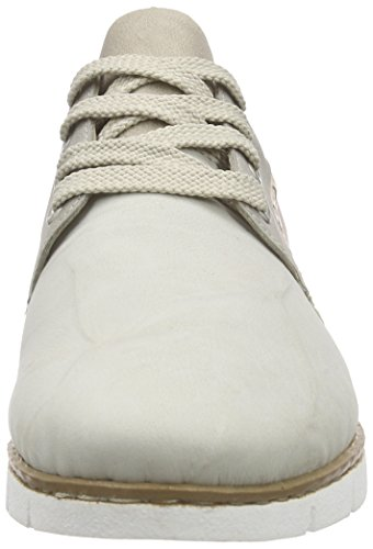 Rieker M1327 Women Low-top Damen Sneakers Beige (marble/grey/offwhite/rose / 61)
