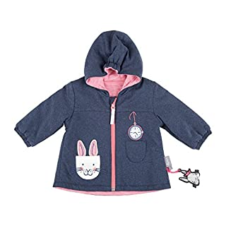 Sigikid Girls' Wendejacke, Baby Jacket, Blue (Melange ABL 390 772), 6-9 Months