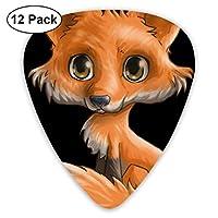 Fox Guitar Picks - 12 pack