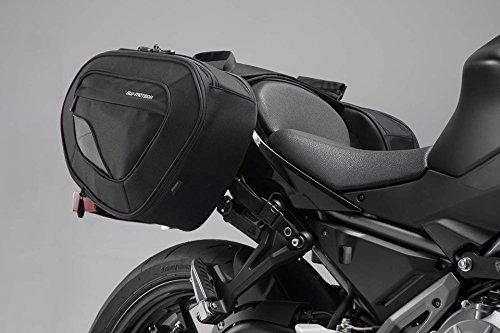 SW-MOTECH BLAZE H Satteltaschen-Set, Schwarz/Grau für Kawasaki Z650 / Ninja 650 (16-) -