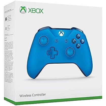 Microsoft - Mando Inalámbrico, Color Azul (Xbox...
