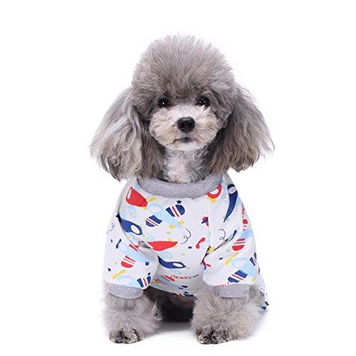 Hund Jumpsuits Kleidung FüR Hund Chihuahua Yorkshire Kleine Hund Kleidung Haustier-Pyjamas LNAG , (Halloween Charaktere Kostüme Hinweis)