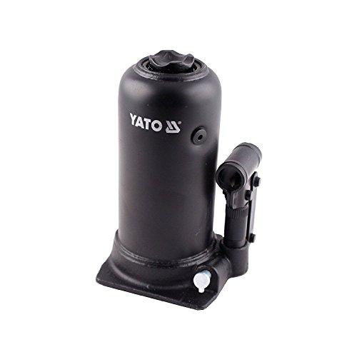 Hidráulico botella jack pistola 5t AllrounderGato hidráulico robusto con una capacidad de carga de hasta 5toneladas y una altura de elevación de 280mm, perfectas para el uso en coches, camiones, remolques, maquinaria agrícola, caravanas o tractore...