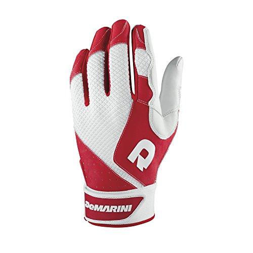 DeMarini Herren Phantom Batting Handschuhe, Herren, scharlachrot, XX-Large -