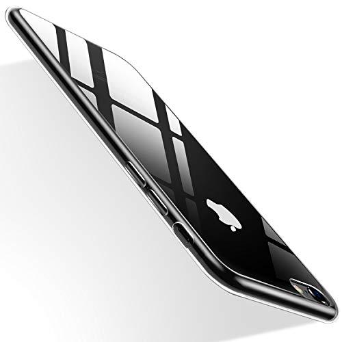 Humixx cover iphone 6/6s, custodia ultra sottile anti-graffio e resistente alle impronte digitali caso della copertura protettiva in plastica dura cover per iphone 6/6s (trasparente)[skin series]