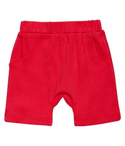 Sense Organics Baby-Mädchen Emilio Shorts, Rot (Rose Red 300019), 56 (Herstellergröße: 0M)