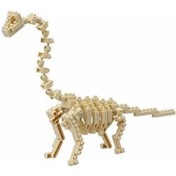 Nanoblock - Figura de Brachiosaurus (NAN-NBC114)