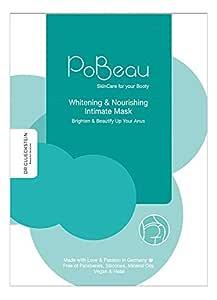 Pobeau Hydrogel-Intimmaske | 12 ml | für dunkle Stellen an der Haut: Aufhellung und Hydratisierung des Analbereichs. Schonender Anus-Bleaching-Effekt. Geeignet auch für Achselhöhlen, Ellenbogen, uvm