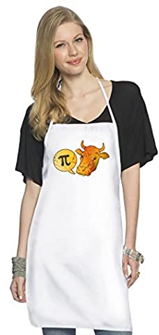 Scientific Cow Goes Mu Köche Schürze Top Quality Chef's Apron  Custom Printed  Available In 2 Sizes For Women & Men  100% Durable Polyester  Premium Kitchen Supplies For Bars/Bistros & Home By Hamerson