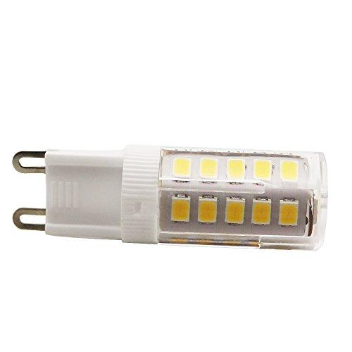 10Stück 3Walt G9LED Lampe Entspricht 30W Halogenlampe 33SMD 2835AC220V 250LM Abstrahlwinkel von 360Grad Warmweiß 3200K - 3