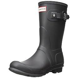 hunter women's original short wellington boots iris w23758 - 41I9ukYVwTL - Hunter Women's original short wellington boots Iris W23758