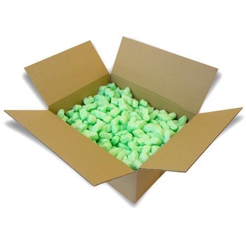 50 Liter Flo-Pak Grün Verpackungschips Füllmaterial Chips Polster - 3