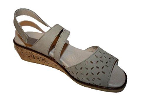 Romika Damen Sommer Schuhe Sandalen Beige