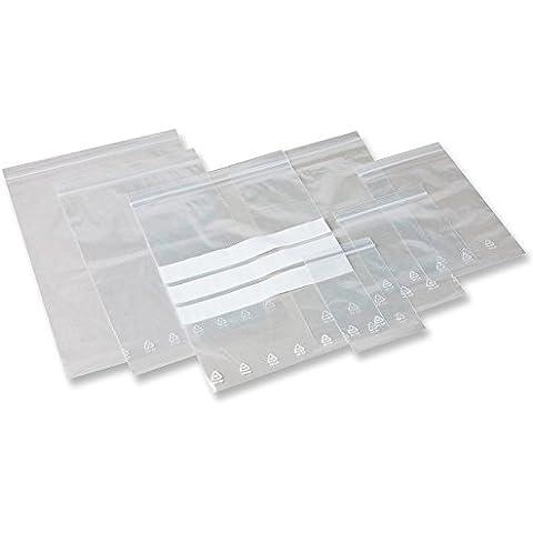 Chiusura buste 40 x 60 mm adesivo
