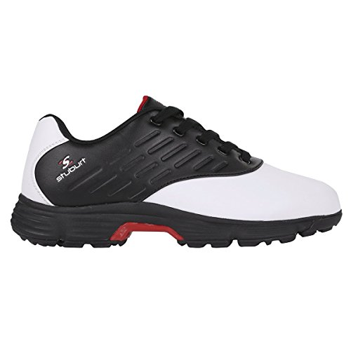 Stuburt Men's Sport-TECH Response Golf Shoe White, 9.5 UK 43.5 EU