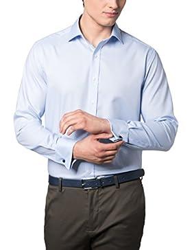 ETERNA Langarm Hemd MODERN FIT Natté strukturiert