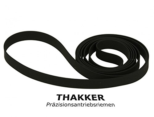 Thakker SL BD 22 D Cinghia Compatibile con Technics SL BD 22 D Cinghia Giradischi Belt