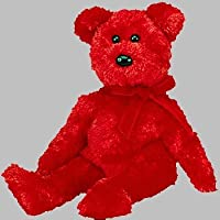 TY Sizzle the Red Bear Beanie Baby