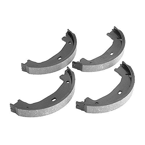 Preisvergleich Produktbild febi bilstein 18536 Bremsbackensatz für Feststellbremse / Handbremse (hinten,  2 Bremsbacken)