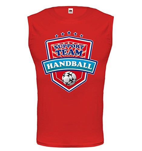 buXsbaum® Tank Top Handball-Support Team Red-z-direct