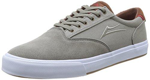 Lakai Guymar, Chaussures de skateboard homme Aluminium Suede