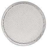 Vogue à pizza écran en maille métallique 12en plaque de cuisson Cuisine Bakeware