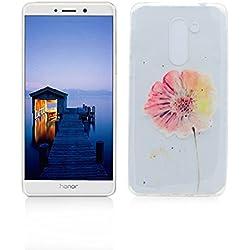 Funda Huawei Honor 6X Carcasa Protectora OuDu Funda para Huawei Honor 6X Caso Silicona TPU Funda Suave Soft Silicone Case - Margarita