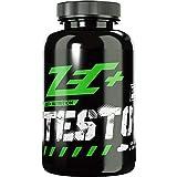 ZEC+ Testo+ Kapseln - 120 Stück, Testosteron Booster Kapseln, Muskelwachstum Booster mit D-Asparaginsäure und N-Methylglycine gegen Testosteronmangel - Made in Germany
